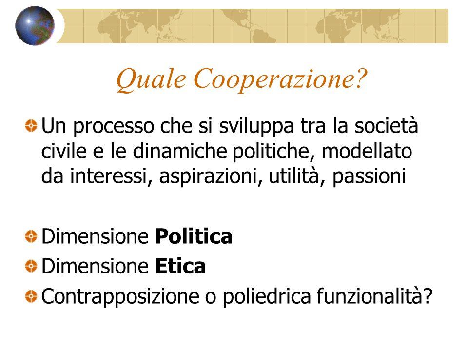 Quale Cooperazione.