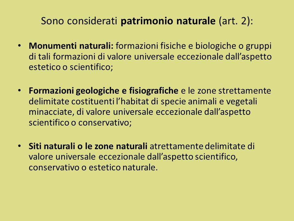 La tutela del Paesaggio attraverso nei trattati ambientali