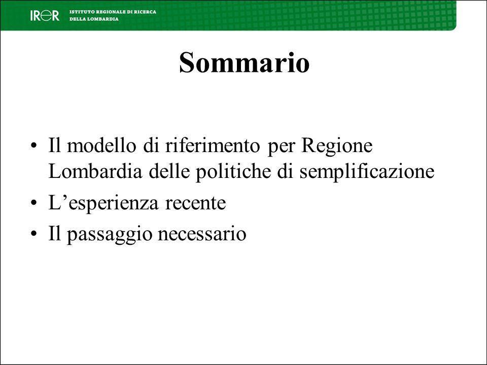 Paradigmi e modelli 1.Centrati sul procedimento 2.Centrati sullinnovazione della funzione pubblica