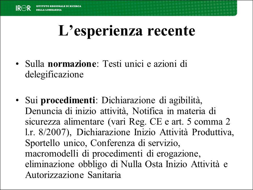 Il passaggio necessario: una nuova concezione della funzione di Regione Lombardia