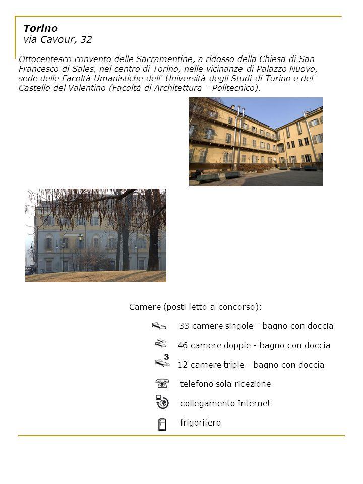 Torino via Cavour, 32 Ottocentesco convento delle Sacramentine, a ridosso della Chiesa di San Francesco di Sales, nel centro di Torino, nelle vicinanz