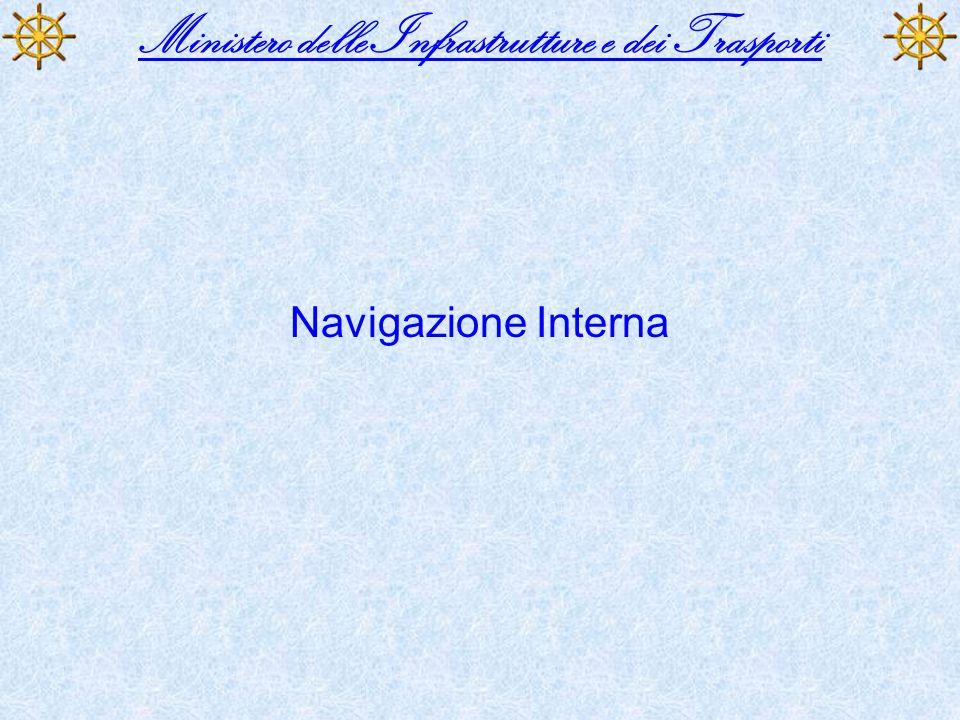 Ministero delle Infrastrutture e dei Trasporti Navigazione Interna