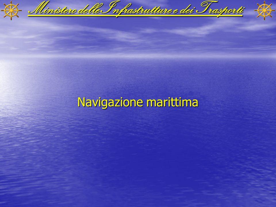 Ministero delle Infrastrutture e dei Trasporti Navigazione marittima
