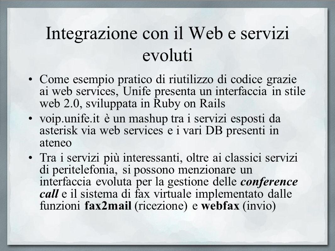 Integrazione con il Web e servizi evoluti Come esempio pratico di riutilizzo di codice grazie ai web services, Unife presenta un interfaccia in stile
