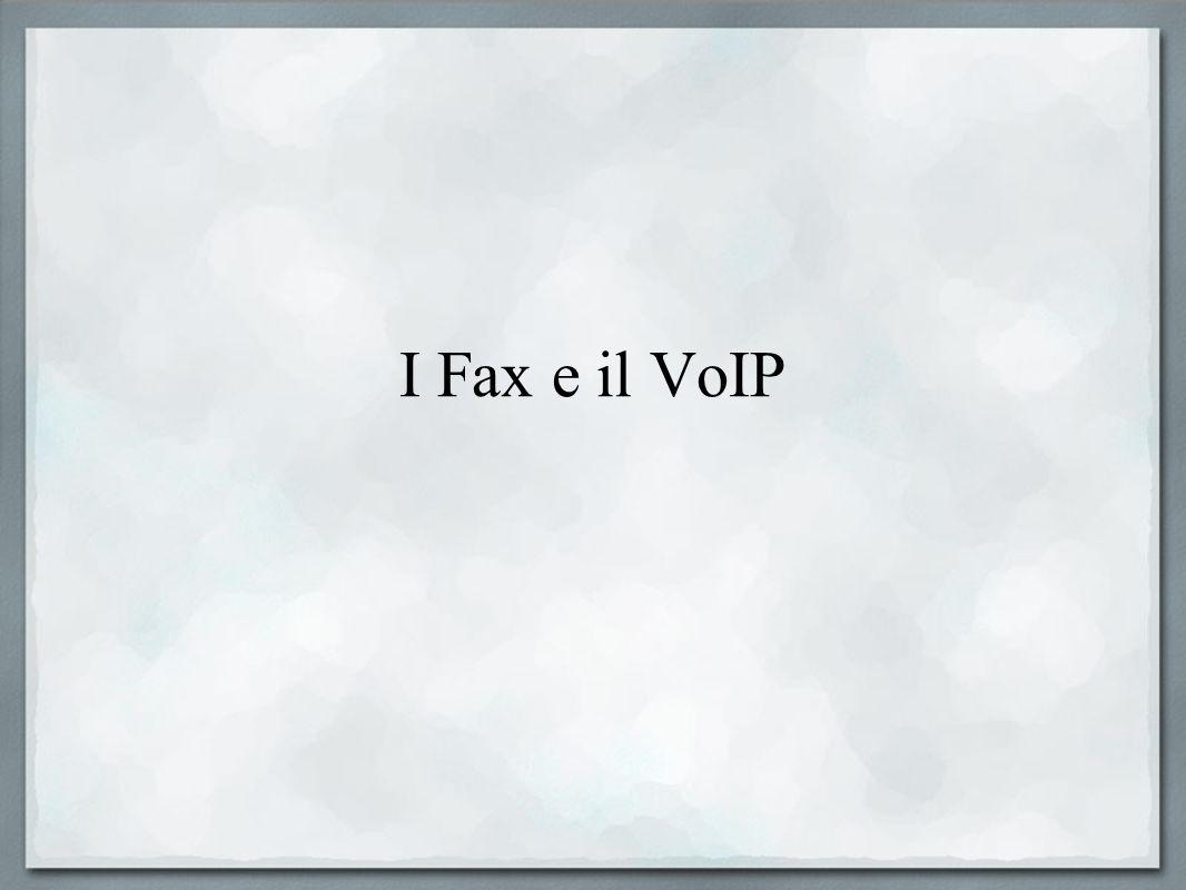 I Fax e il VoIP