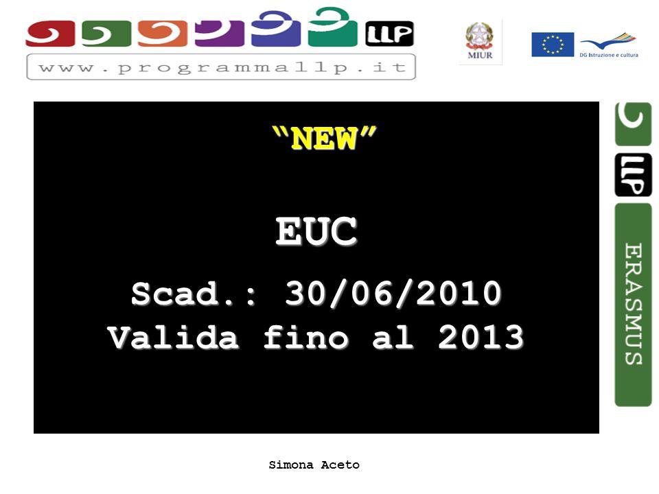 Simona Aceto NEW EUC Scad.: 30/06/2010 Valida fino al 2013