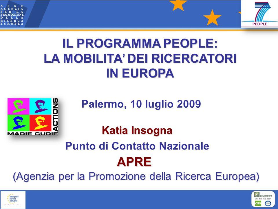 Associazione di ricerca no-profit, creata nel 1990 con il patrocinio del Ministero della Ricerca e della Commissione Europea Promuovere la partecipazione italiana ai programmi europei di Ricerca, Sviluppo e Innovazione Tecnologica ( Programma Quadro ) CHI E MISSION APRE