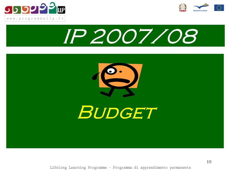10 Budget IP 2007/08