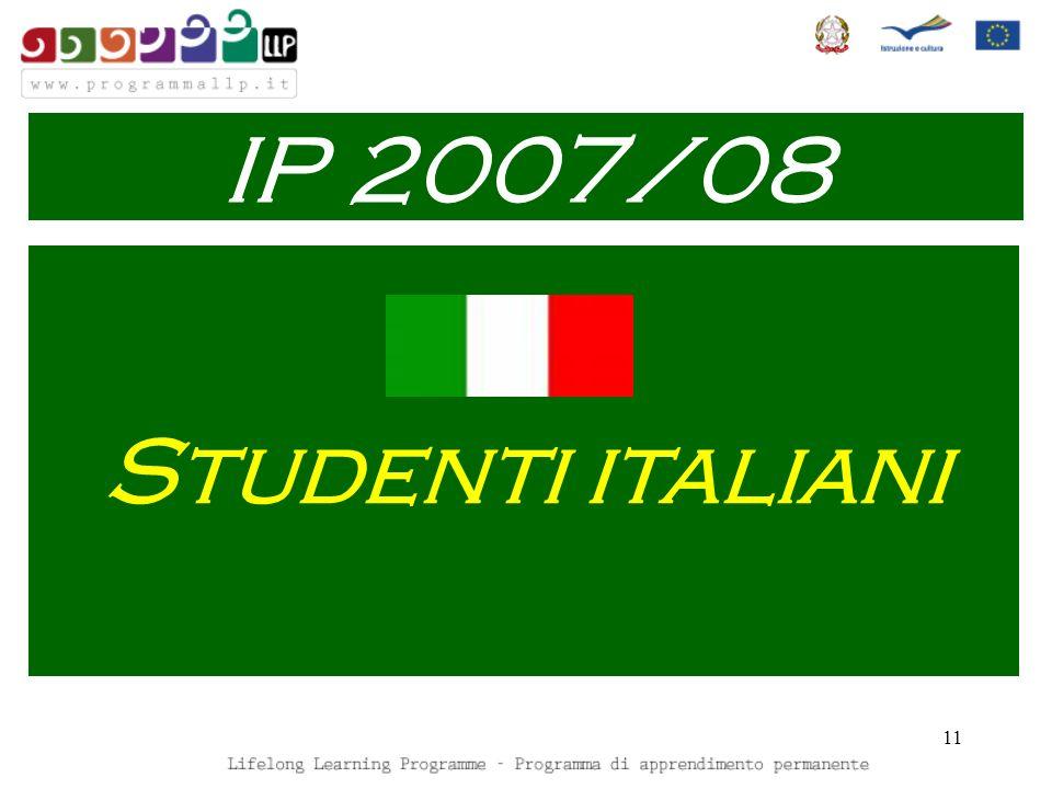 11 Studenti italiani IP 2007/08