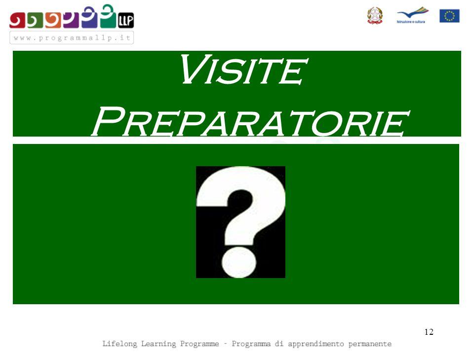 12 Visite Preparatorie