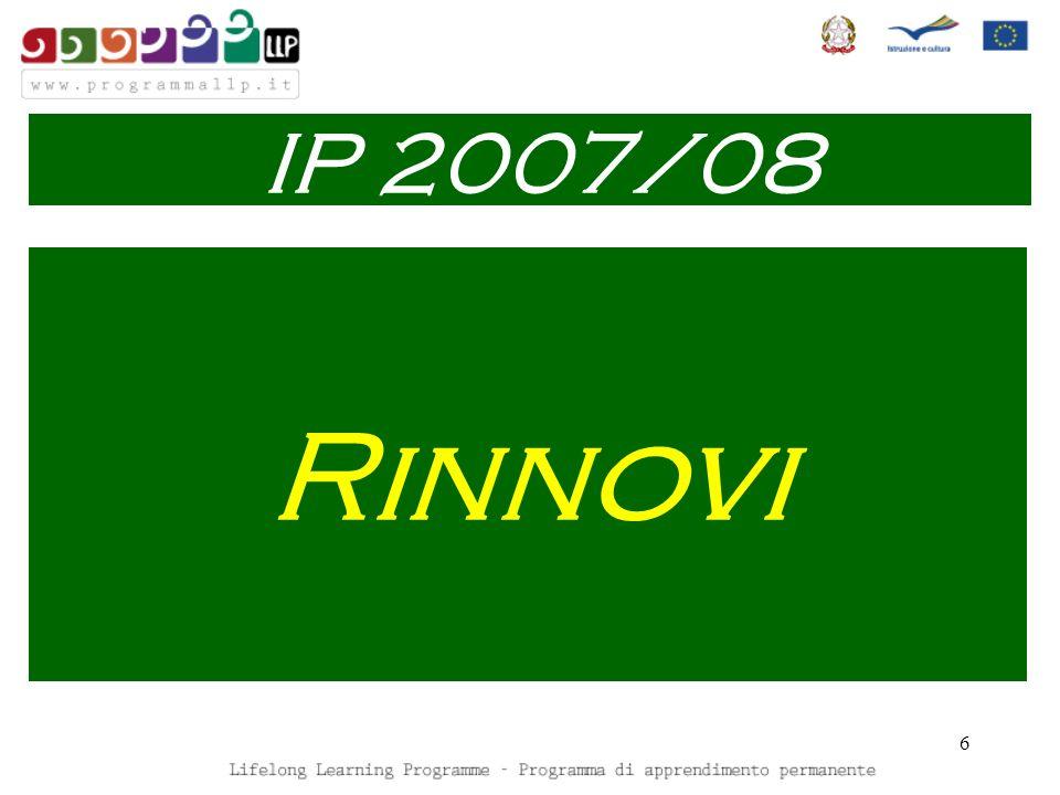 6 Rinnovi IP 2007/08