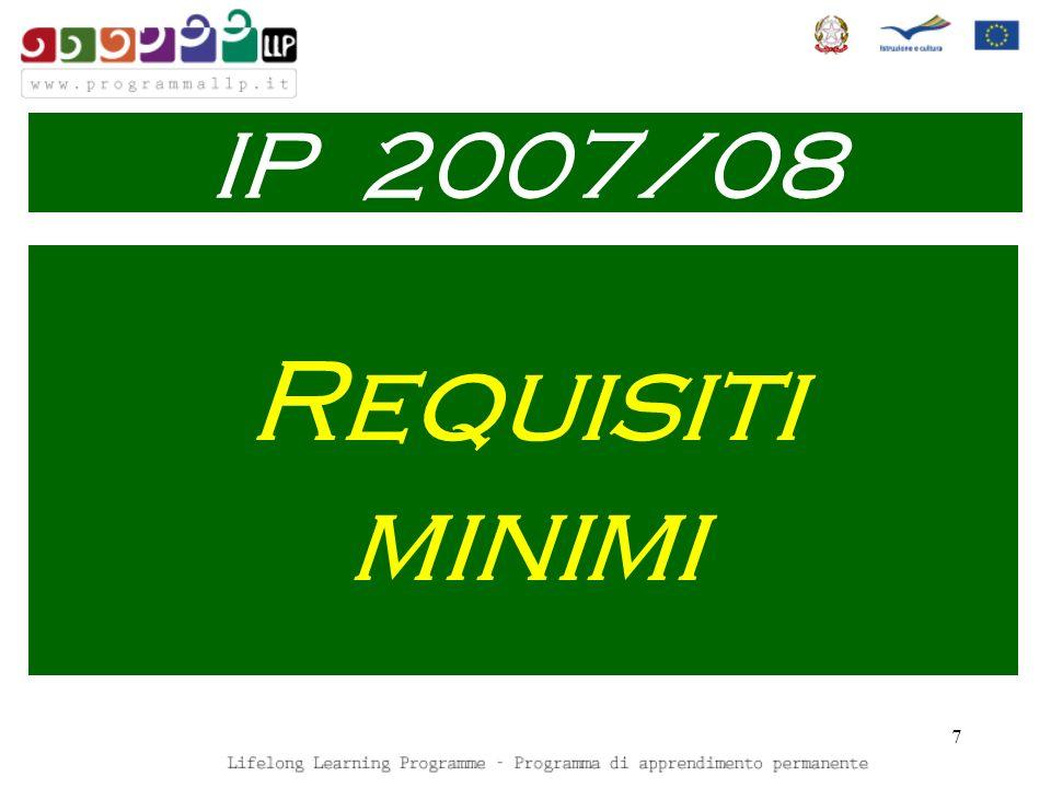 8 Disseminazione IP 2007/08
