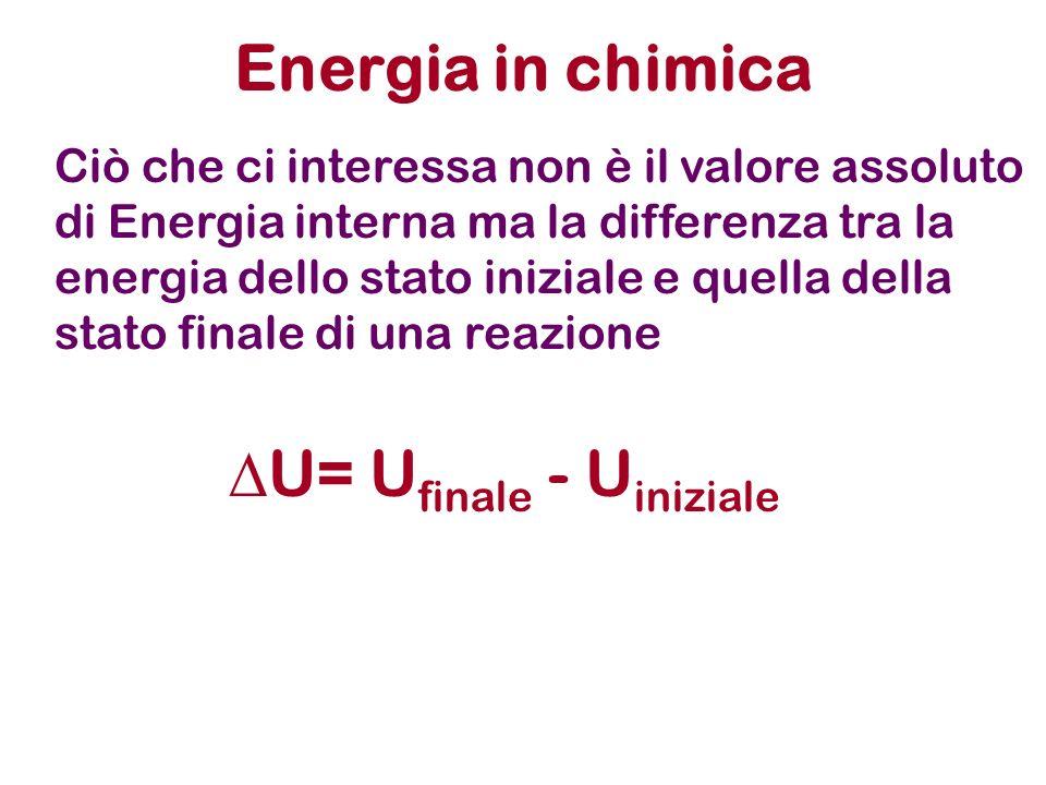 Processi endotermici e esotermici Esotermico: durante la trasformazione il sistema cede una certa energia sotto forma di calore.