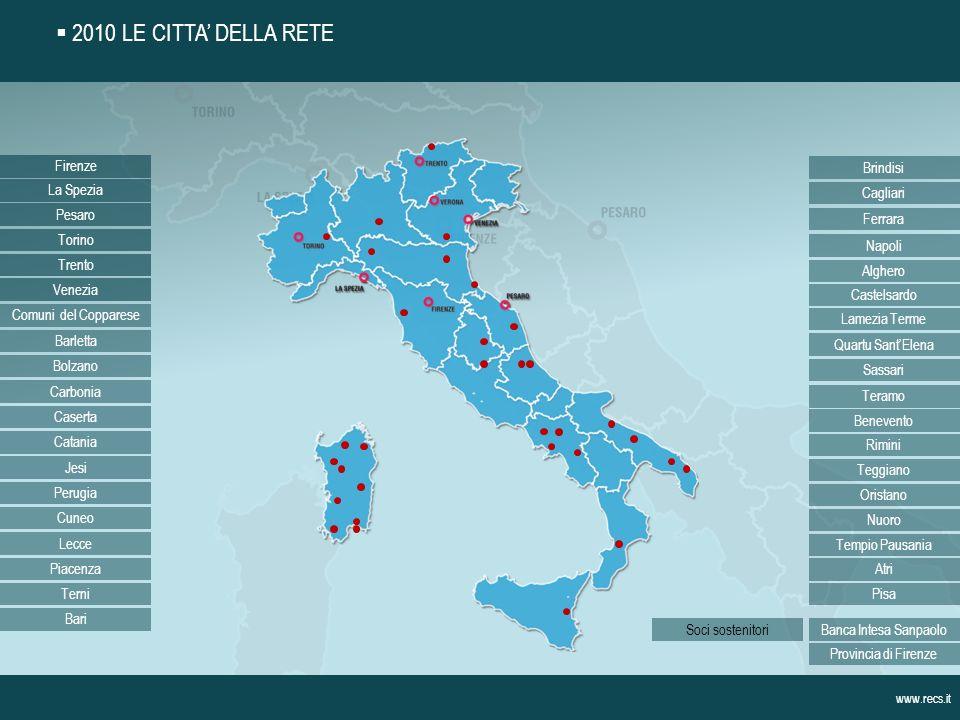 Rete delle Città Strategiche – ReCS Via Manzoni, 16 50121 Firenze Tel.