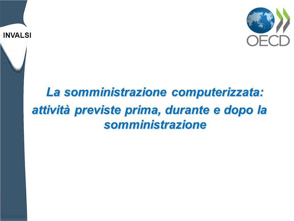 INVALSI Cliccando su PISA Assessment il software eseguirà una scansione antivirus e chiederà una password, unica per tutte le scuole italiane: 936923780 Il giorno della somministrazione