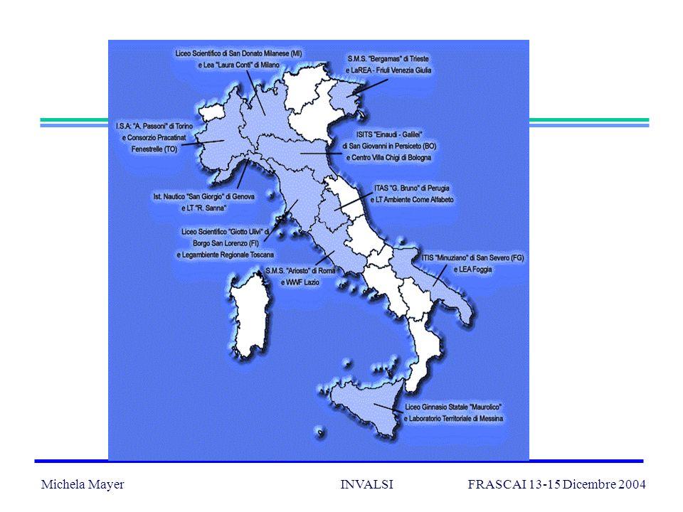 Michela Mayer INVALSI FRASCAI 13-15 Dicembre 2004 19 Raccogliere la sfida: una valutazione coerente con i principi dellEA Una valutazione che tenga in conto le complessità, che non si limiti alle misure, ma che ponga attenzione alle emergenze.