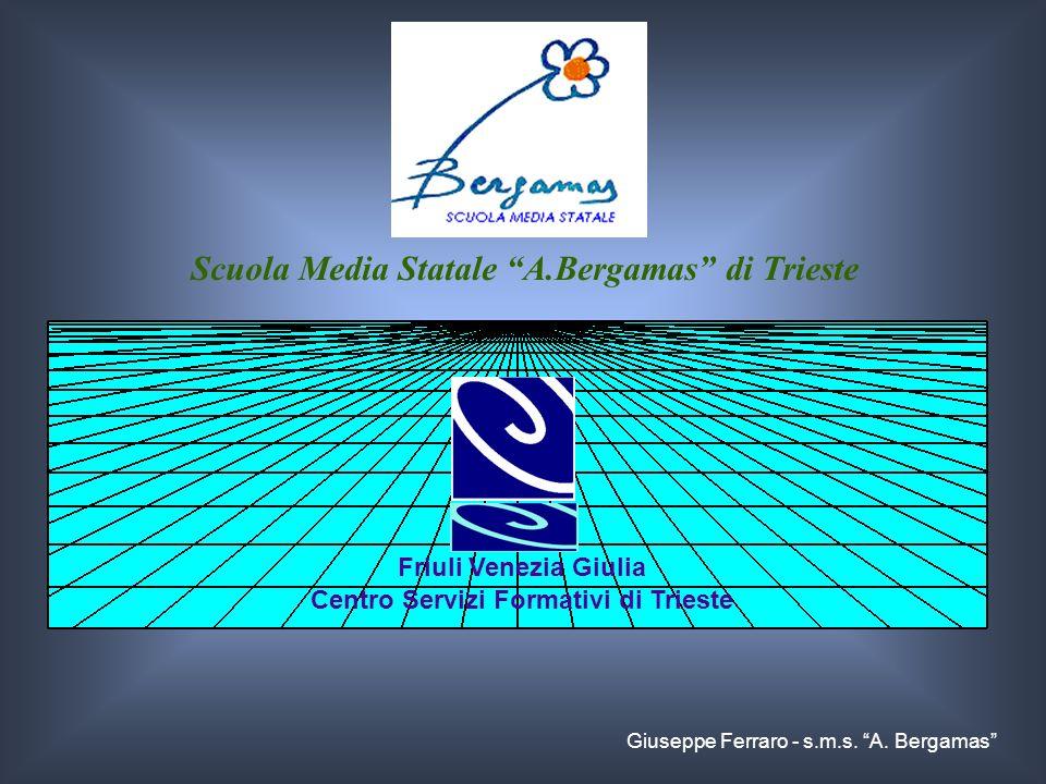 Scuola Media Statale A.Bergamas di Trieste Friuli Venezia Giulia Centro Servizi Formativi di Trieste Giuseppe Ferraro - s.m.s. A. Bergamas