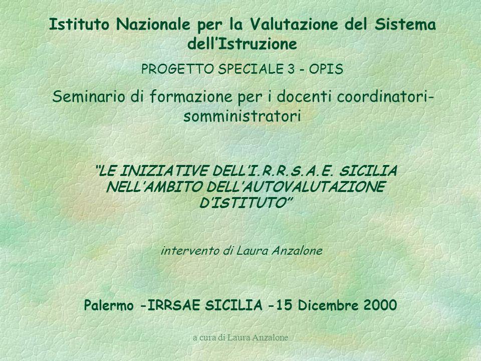 a cura di Laura Anzalone E Nsistema policentrico sistema nazionale gestione territoriale autogoverno delle istituzioni scolastiche.
