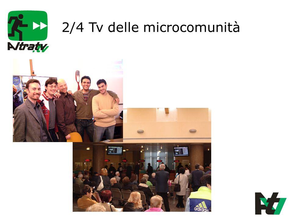 2/4 Tv delle microcomunità