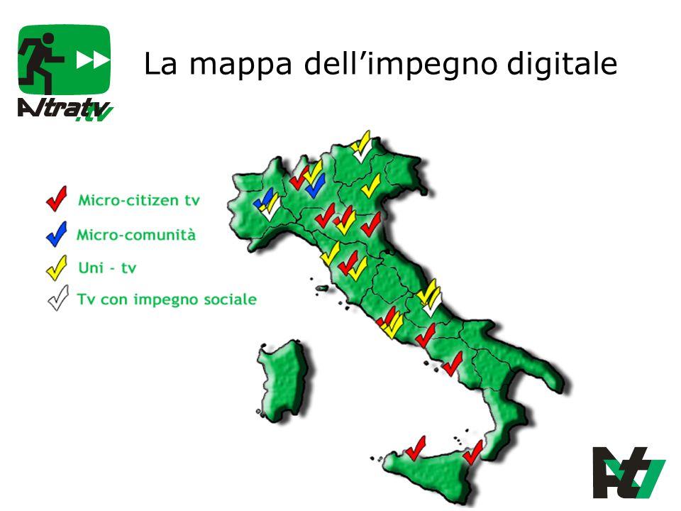 La mappa dellimpegno digitale