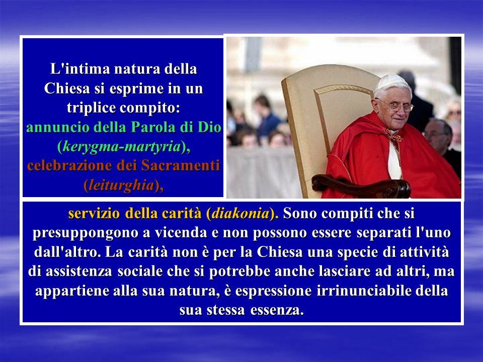 Con la sua prima Lettera Enciclica DEUS CARITAS EST ci insegna ad amare. Con la sua prima Lettera Enciclica DEUS CARITAS EST ci insegna ad amare.