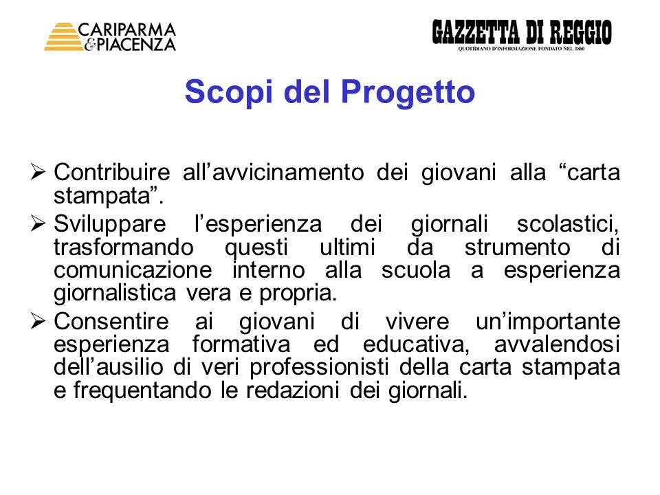 Dopo tre anni di esperienza positiva, nel corso dei quali hanno partecipato al progetto circa 2.500 ragazzi per 150 redazioni interclasse, la Scuola di Giornalismo di Cariparma e Piacenza si rinnova.