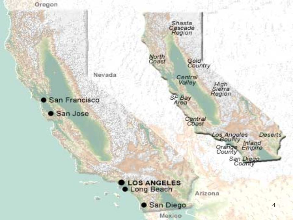 34 Nella vicina Santa Ana vi è il Main Place Shopping Center che caratterizza lo stile di vita della California del sud.