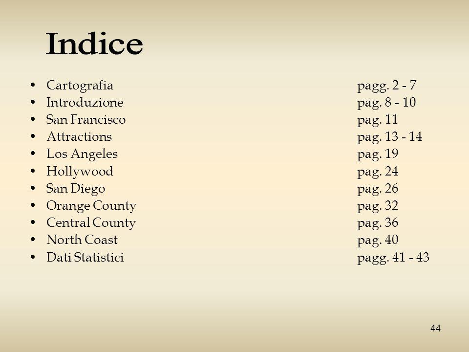 43 Dati Statistici Dall Italia alla California