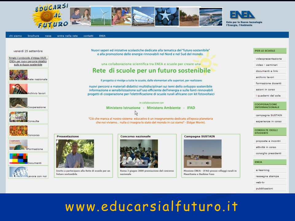 www.educarsialfuturo.it