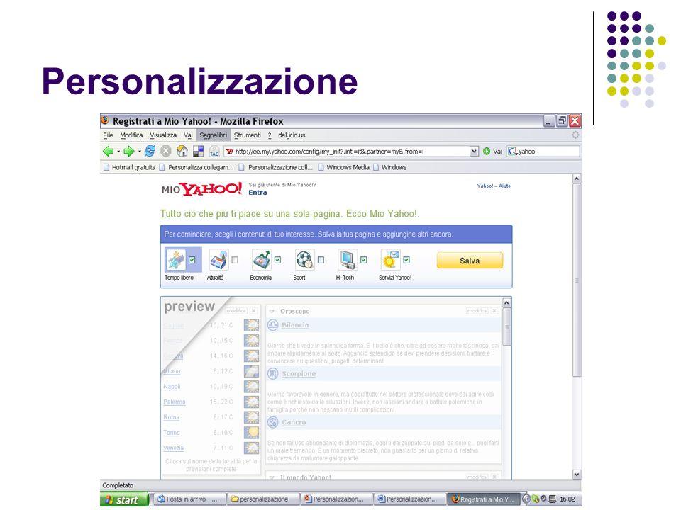 Personalizzazione - Customization