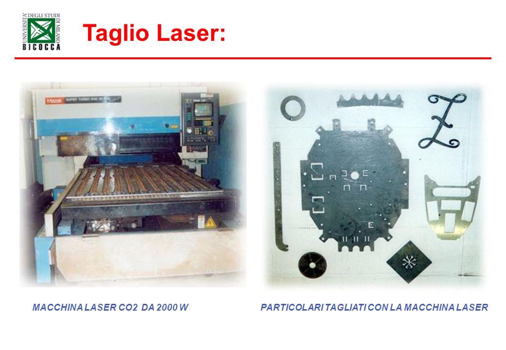 Taglio Laser: MACCHINA LASER CO2 DA 2000 WPARTICOLARI TAGLIATI CON LA MACCHINA LASER