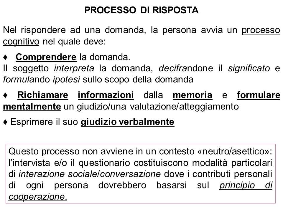 Ogni contributo deve essere: Rilevante (appropriato) Informativo (no lacune o ridondanze) Chiaro (no ambiguità) Veridico principio di cooperazione