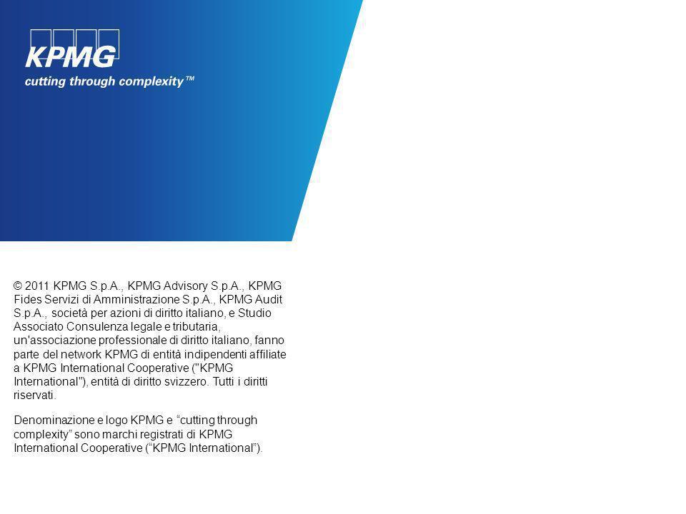 Grazie Human Resources Per ulteriori informazioni sulle diverse opportunità professionali in KPMG è possibile consultare il nostro sito: www.kpmg.com/