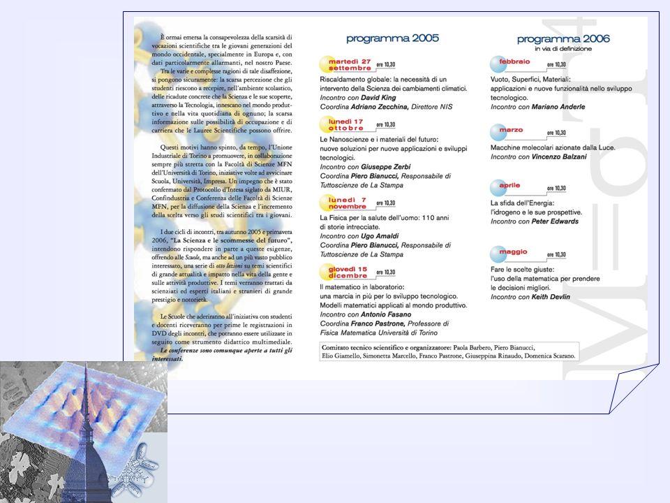 Laboratorio 3.Tecniche di caratterizzazione dei materiali E.