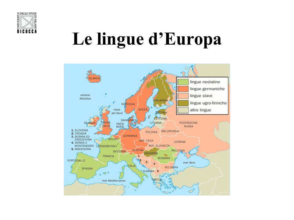 Le lingue dEuropa