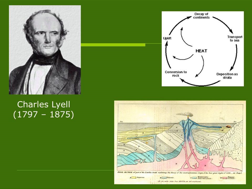 Charles Lyell (1797 – 1875)