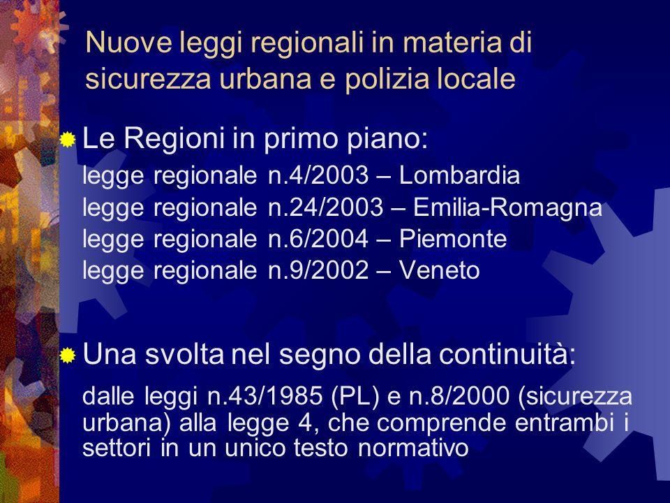 COORDINAMENTO REGIONALE Lombardia Principio base: Sussidiarietà Riferimento regionale: Struttura di coordinamento presso la U.O.