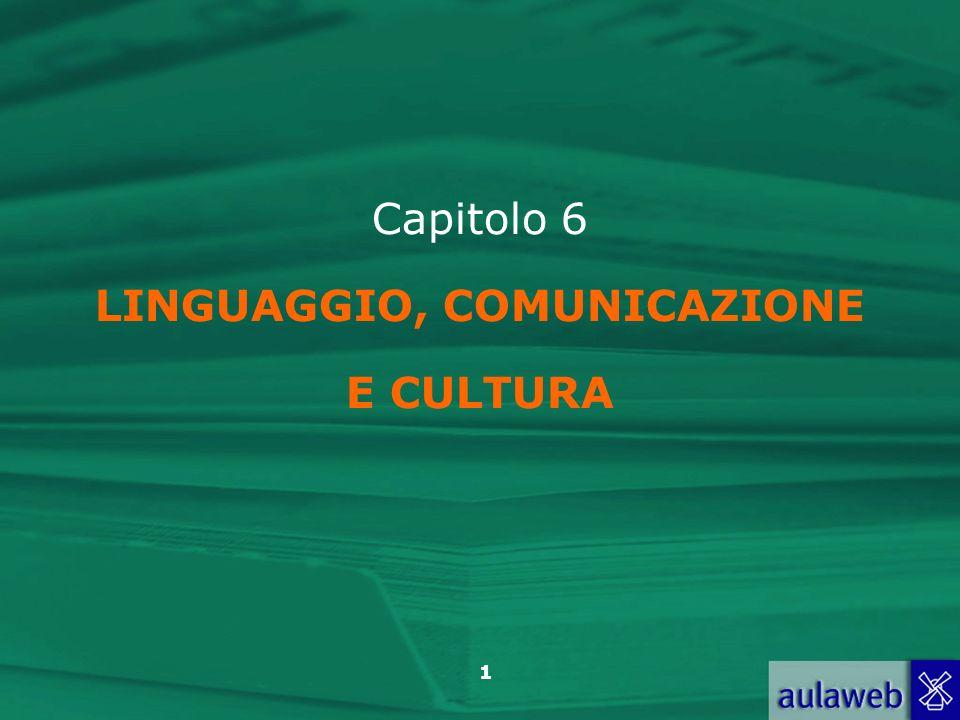 22 Anolli, Psicologia della cultura, Il Mulino, 2004 Capitolo 6.