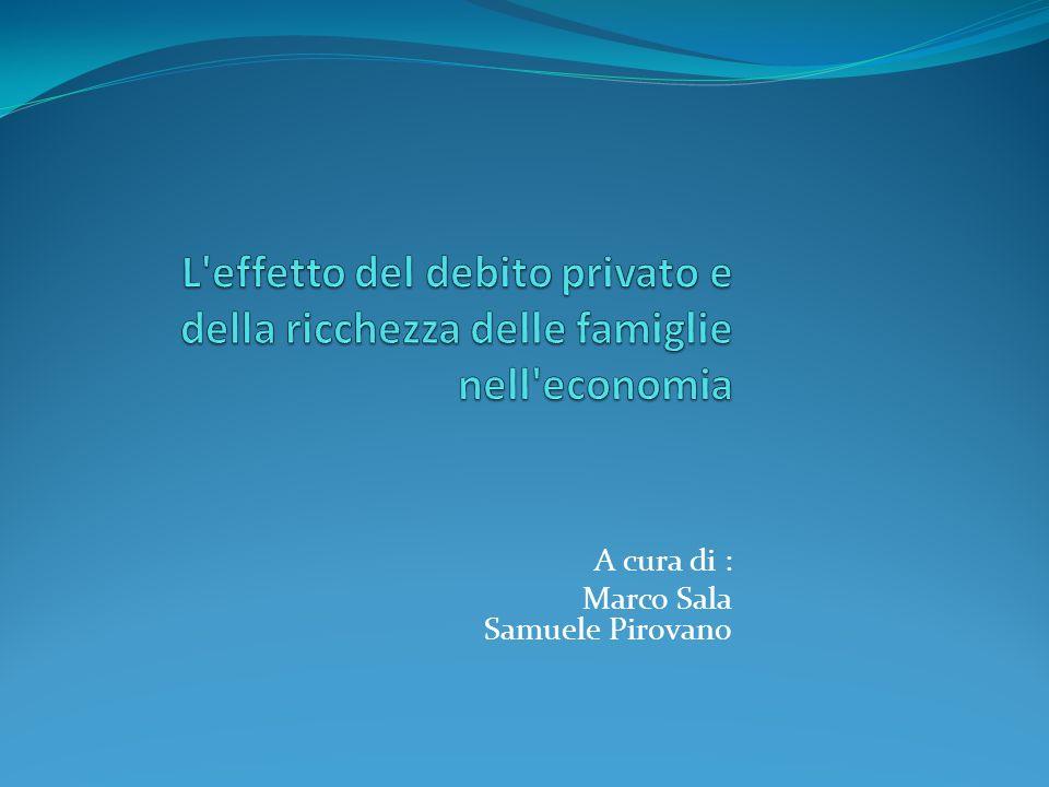 Debito pubblico e debito privato: dati a confronto OCSE: Debito complessivo dei paesi membri ha superato il 100% Consolidamento fiscale finalizzato alla riduzione del rapporto debito/PIL deve essere il principale obiettivo di politica economica