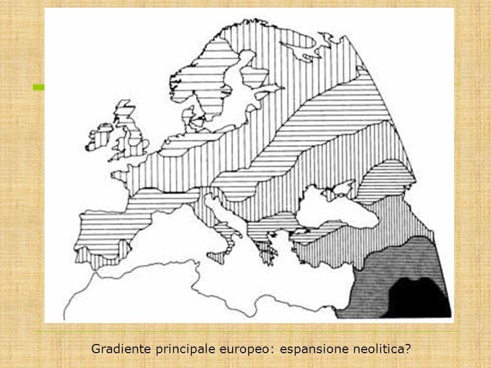 Gradiente principale europeo: espansione neolitica?