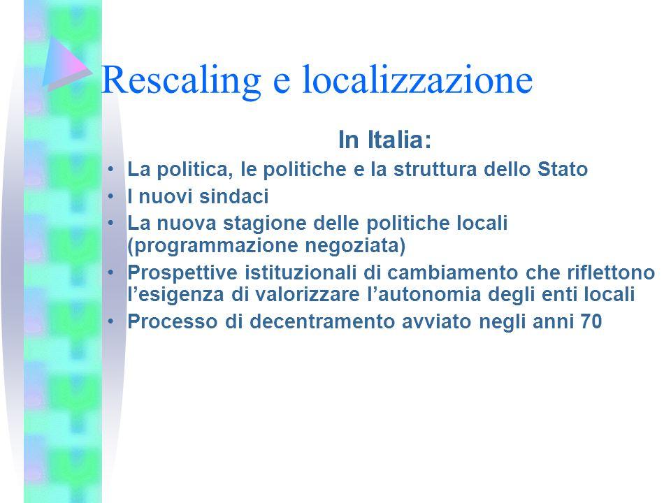 LEuropa Linee di finanziamento Il Metodo Aperto di Coordinamento –identificazione e definizione congiunta di obiettivi da raggiungere ; –strumenti di misura (statistiche, indicatori, linee guida); –il « benchmarking », l analisi comparativa dei risultati degli Stati membri e lo scambio di pratiche ottimali (sorveglianza)