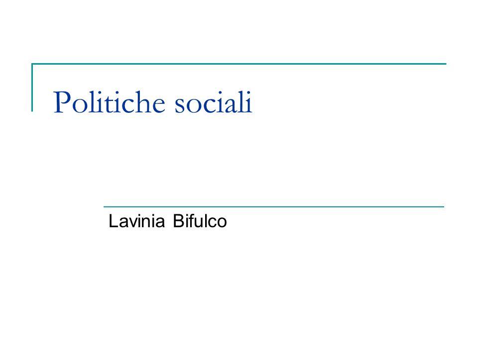 Quadro europeo linee di cambiamento politiche sociali Rescaling Localizzazione Integrazione Negoziazione e partecipazione Territorializzazione Attivazione Individualizzazione: delle politiche; del lavoro.