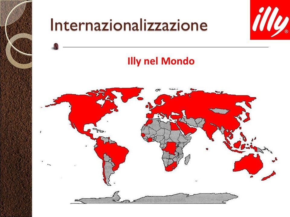 Internazionalizzazione Illy nel Mondo