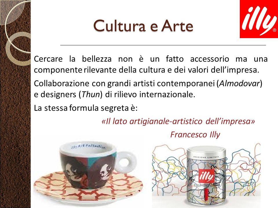 Cultura e Arte Cercare la bellezza non è un fatto accessorio ma una componente rilevante della cultura e dei valori dellimpresa. Collaborazione con gr