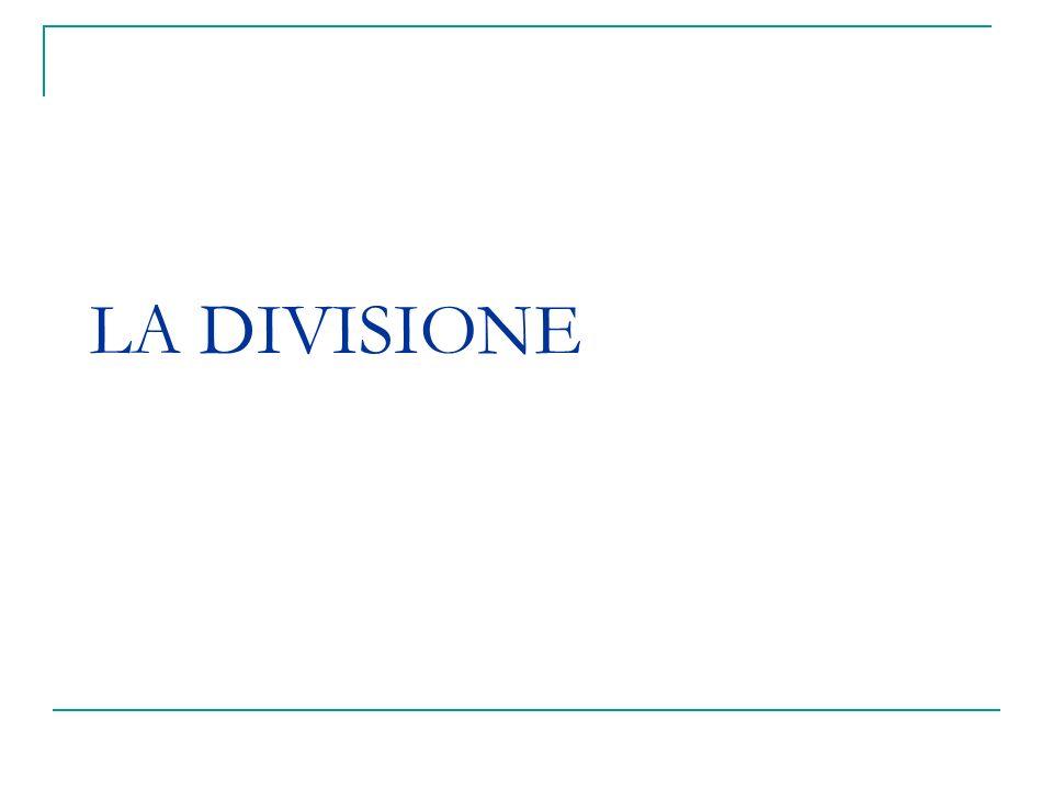 DEFINIZIONE Apporzionamento, con attribuzione in proprietà esclusiva, a ciascuno dei condividenti, di una porzione di valore proporzionale alla quota della quale era titolare >>> scioglimento della comunione ereditaria.