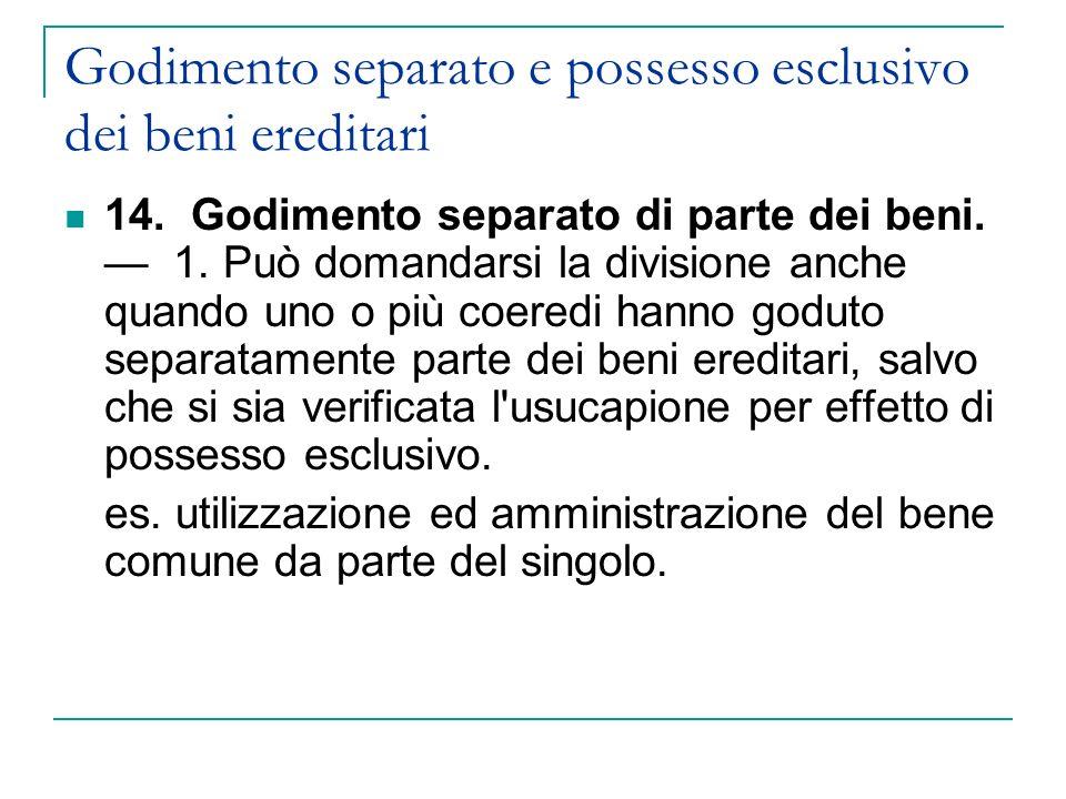 718.Diritto ai beni in natura. 1.