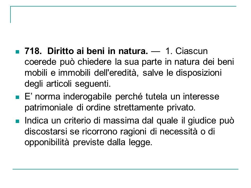 LA DIVISIONE FATTA DAL TESTATORE Ha origine nel diritto romano.
