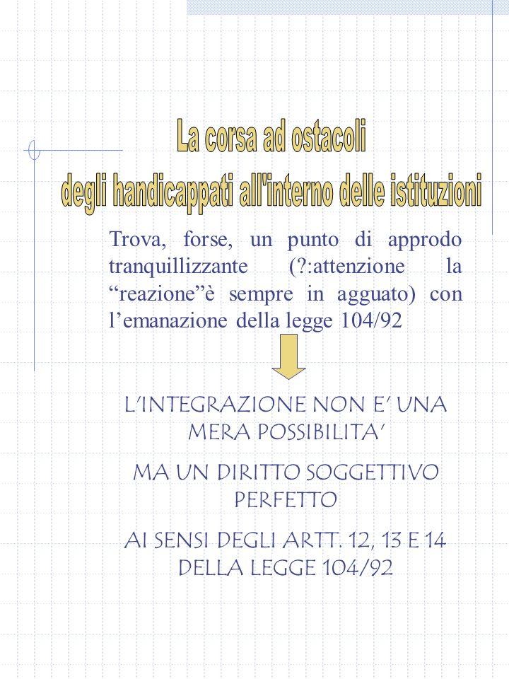 Nell ambito delle attività scolastiche integrative la Scuola attua forme di integrazione a favore degli alunni p.d.h.