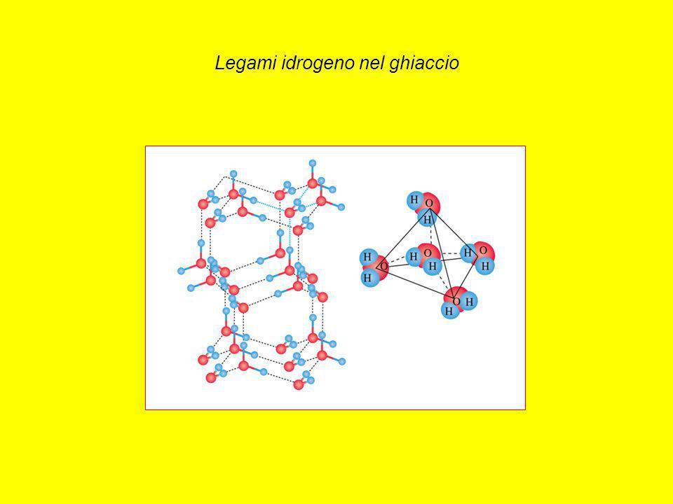 Legami idrogeno nel ghiaccio