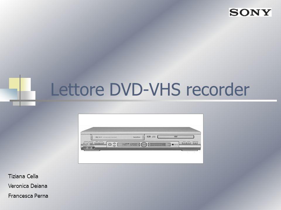 Lettore DVD-VHS recorder Tiziana Cella Veronica Deiana Francesca Perna